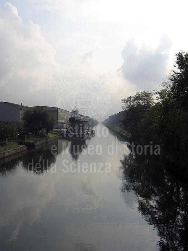 """Navicelli"" Canal from Tirrenia towards Livorno."