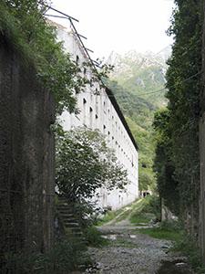 Filanda di Forno - ex Cotonificio Ligure, Forno, Massa.