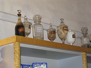 Glass jars, Pharmacy Niccolini, Massa Marittima.