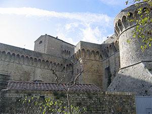 Fortezza Medicea di Volterra.