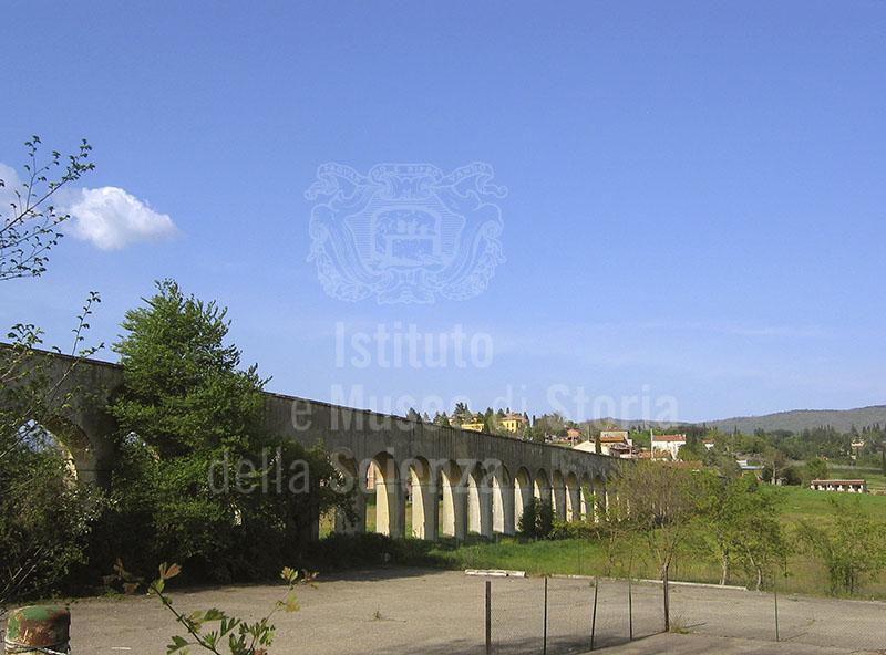 Arcate dell'Acquedotto di Arezzo.