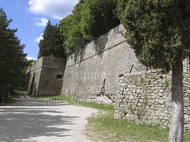 Esterno della Fortezza del Girifalco, Cortona.