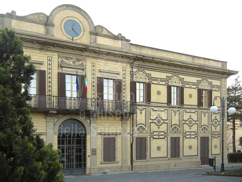 Facciata dell'Ex Ospedale Psichiatrico di Arezzo.