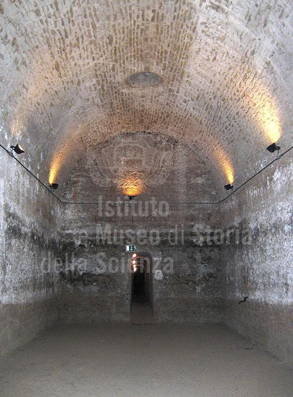 Interno della Cisterna della Villa Romana di San Vincenzino, Cecina.