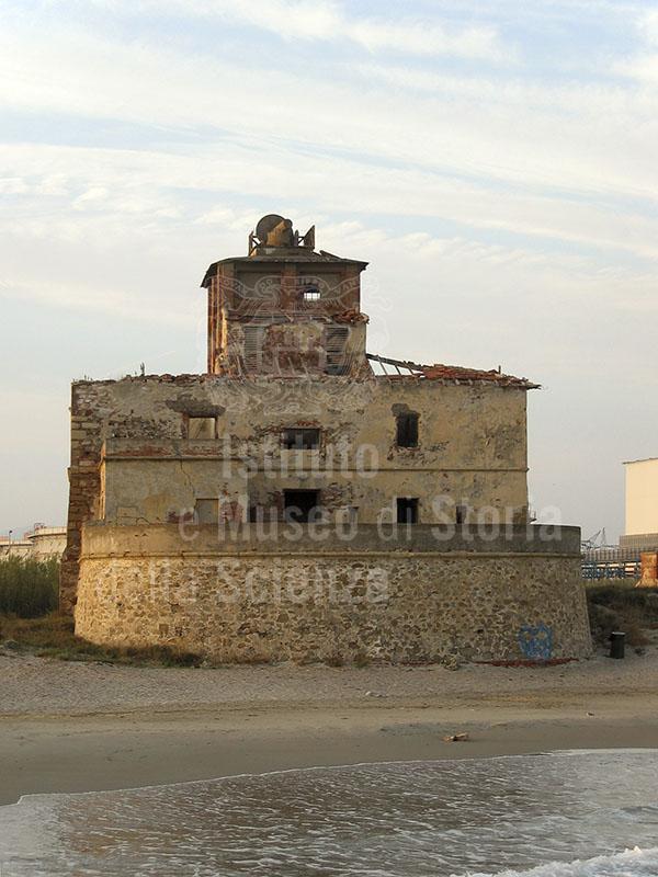 Exterior of the Torre del Sale, Piombino.
