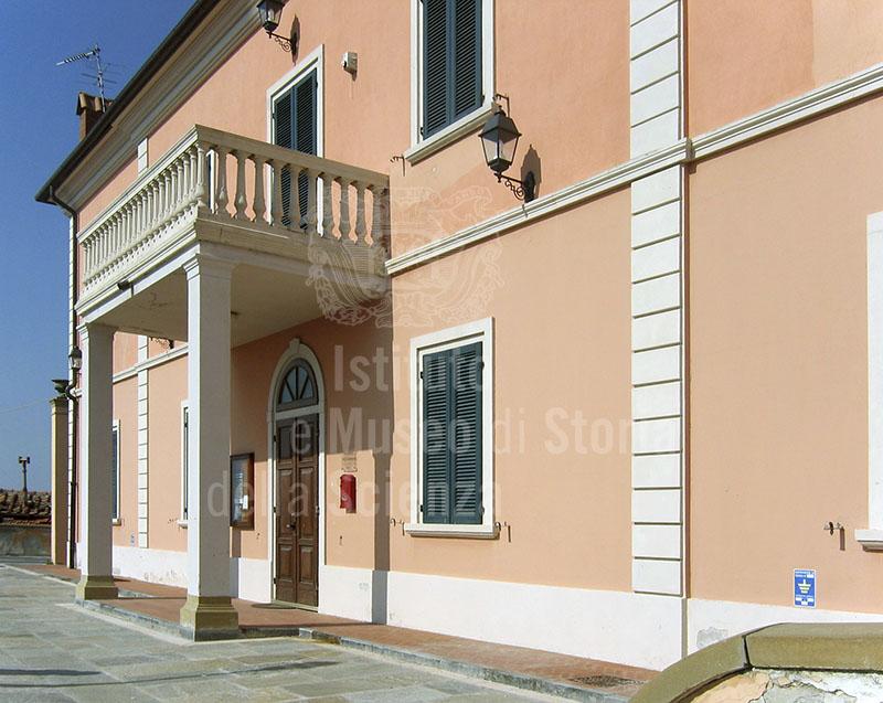 Esterno dell'Ecomuseo dell'Alabastro - Punto Museale di Castellina Marittima.