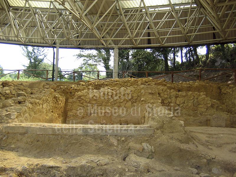 Scavi archeologici nel Complesso Termale etrusco-romano di Sasso Pisano, Castelnuovo di Val di Cecina.