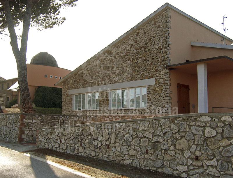 "Exterior of the ""Galileo Galilei"" Astronomical Observatory, Peccioli."