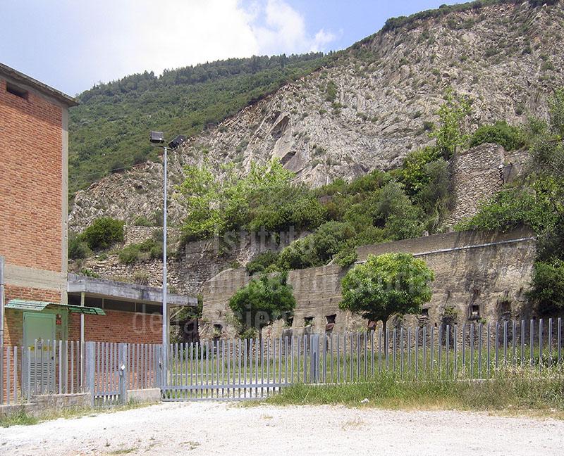 L'Acquedotto Romano a San Giuliano Terme.