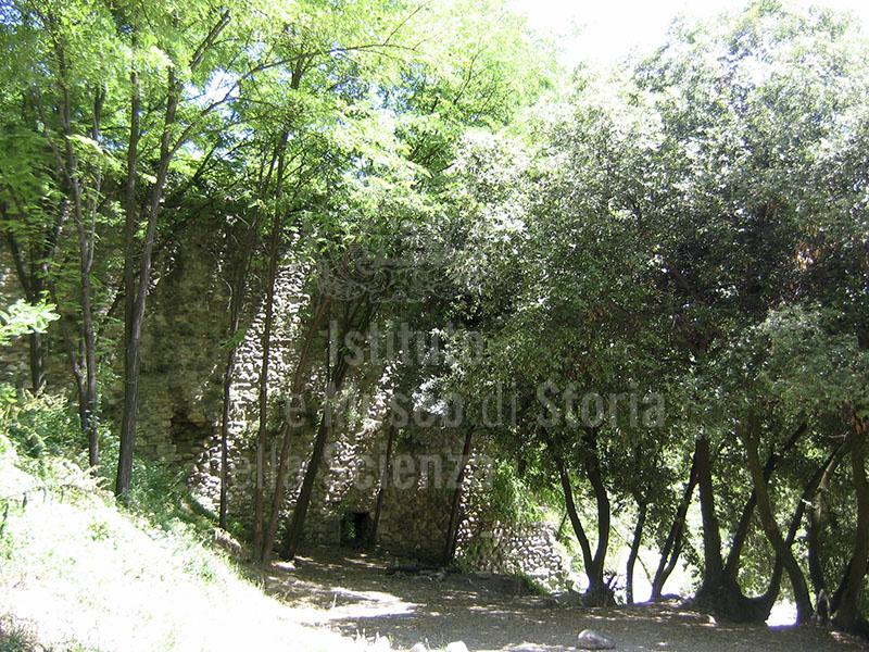 Immagine - Ruderi dei Bagni di Petriolo, Monticiano.