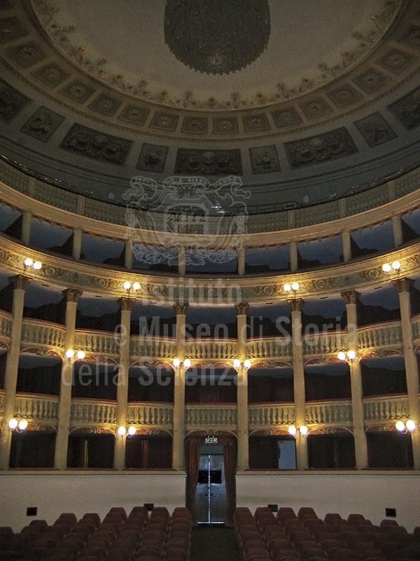 Interior of the Teatro Metastasio, Prato.