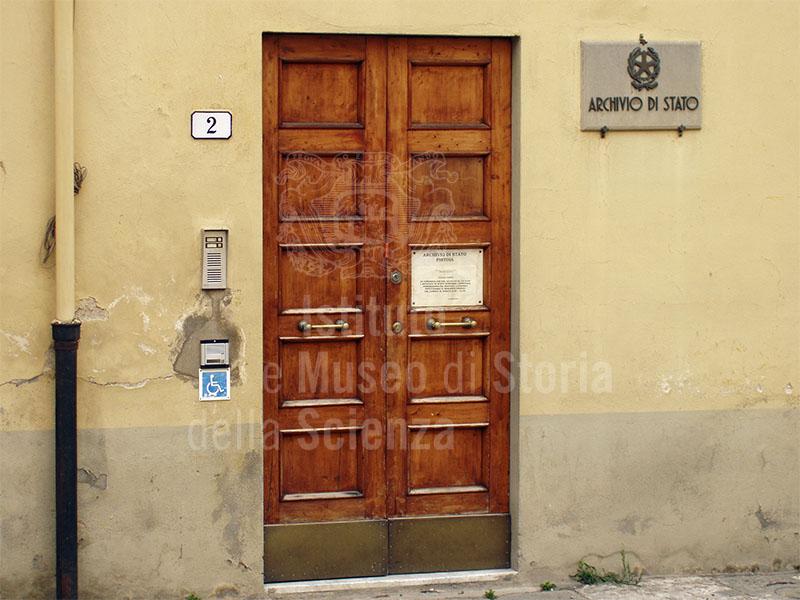 Archivio di Stato, Pistoia.