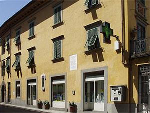 Antica Farmacia Betti, Bagni di Lucca.