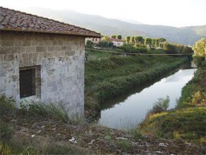 Nuovo canale imperiale presso la botte di Alessandro Manetti, Loc. La Botte.