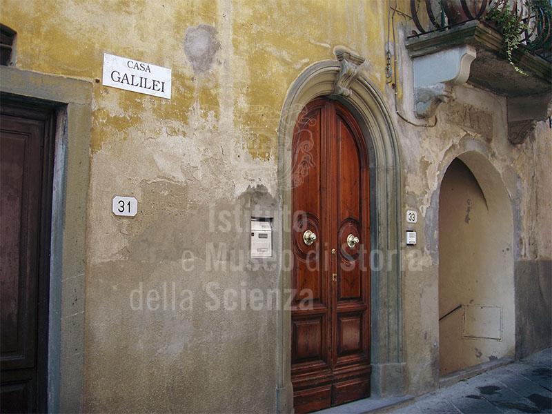 Casa Galilei, Santa Maria a Monte.