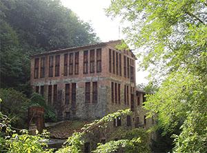 Old building of a disused paper-mill, Biecina, Villa Basilica.