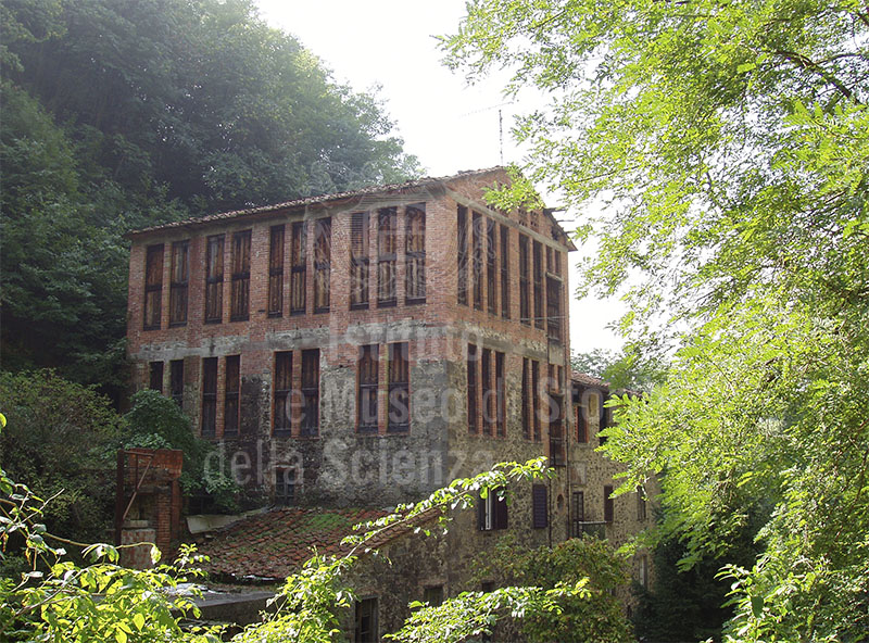 Old building of a disused paper-mill, Biecina, Villa Basilica.