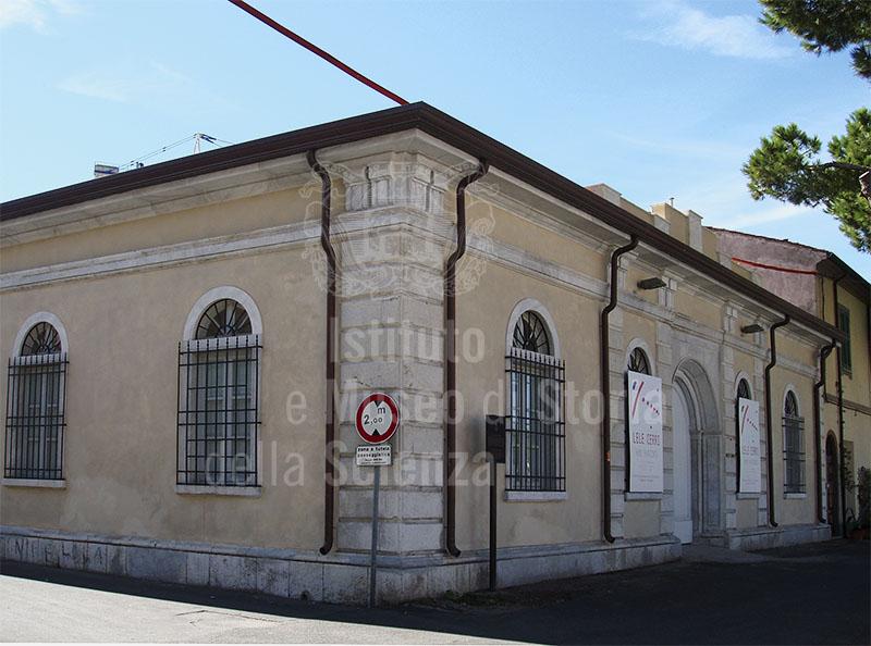 Ex Mercato Ittico, prossimo Museo della Marineria Toscana, Viareggio.