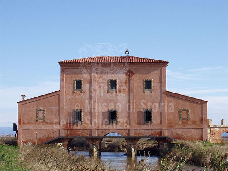 """The """"Casa Rossa"""" of Leonardo Ximenes, Castiglione della Pescaia."""