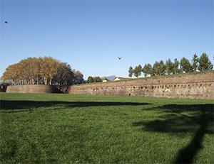 Walls of Lucca: Baluardo San Paolino.