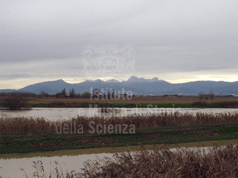 Ex lago di Bientina fra Altopascio e Bientina.