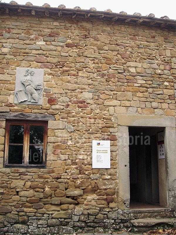 Casa natale di Leonardo da Vinci, Anchiano, Vinci.