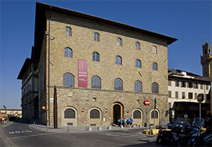 Palazzo Castellani, headquarters of the Museo Galileo - Institute and Museum of the History of Science, Florence.