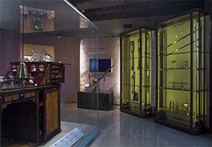 Sala X - Il collezionismo lorenese, Museo Galileo, Firenze.