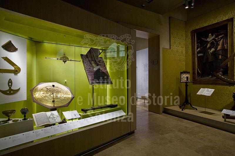 Sala I - Il collezionismo mediceo, Museo Galileo, Firenze.