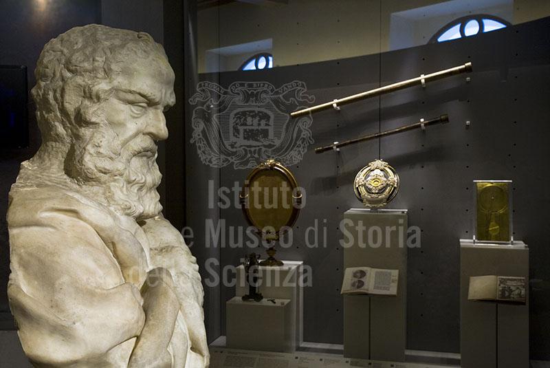 Sala VII - Il nuovo mondo di Galileo, Museo Galileo, Firenze.