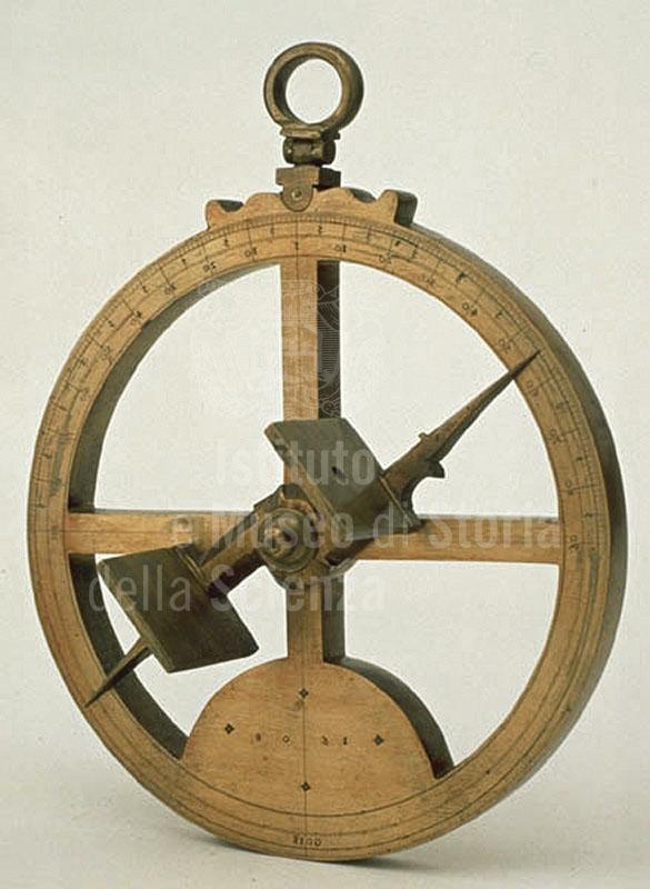 Image - Nautical astrolabe, Francisco de Goes, 1608, Portu