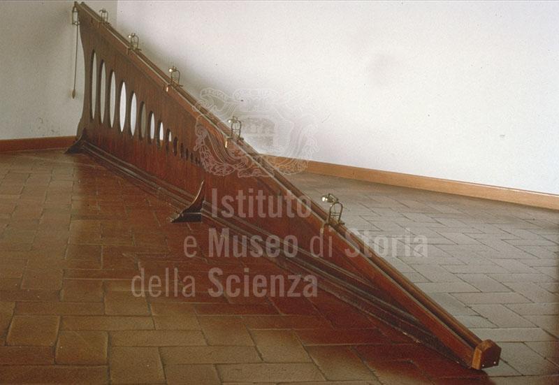 immagine piano inclinato istituto e museo di storia della