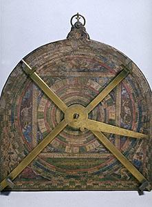 Cosmometer (recto), Jacques Chauvet, Paris 1585, Carrand Collection (inv. 1171), Museo Nazionale del Bargello, Florence.