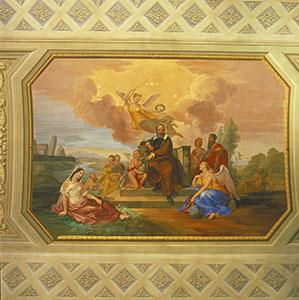 """""""Il trionfo di Galileo Galilei"""", Palazzo Toscanelli, Pisa."""