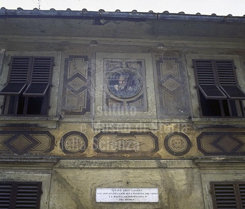 Immagine casa di galileo in costa san giorgio particolare for Casa della piastrella firenze