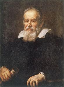 Ritratto di Galileo Galilei. Olio su tela di Justus Suttermans, 1640-1650.