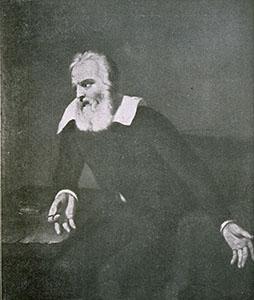 Galileo in prigione. Dipinto di Bartholomé Esteban Murillo, sec. XVII. Ignota l'attuale collocazione dell'opera.