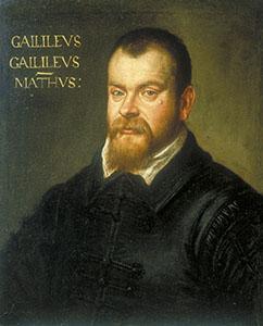 Ritratto di Galileo Galilei. Olio su tela di Domenico Tintoretto, 1605-1606.