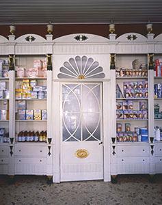 Arredo della Farmacia Betti, Sinalunga.