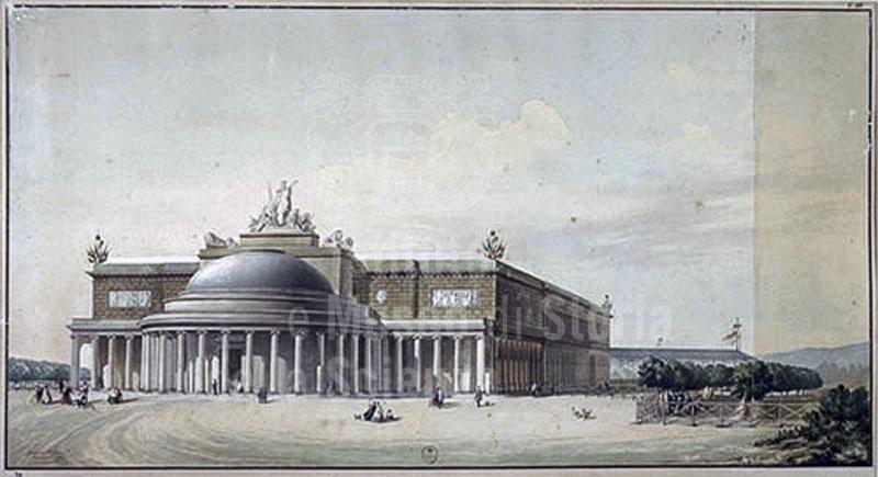 Immagine ex stazione leopolda di firenze disegno raffigura for Immagine di un disegno di architetto