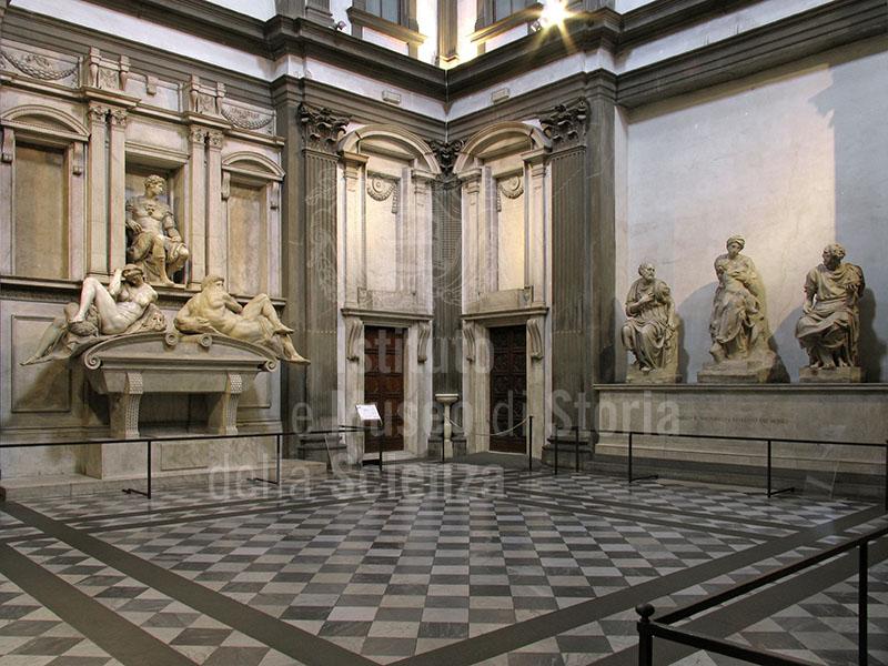 Scorcio della Sacrestia Nuova, Museo delle Cappelle Medicee, Firenze.