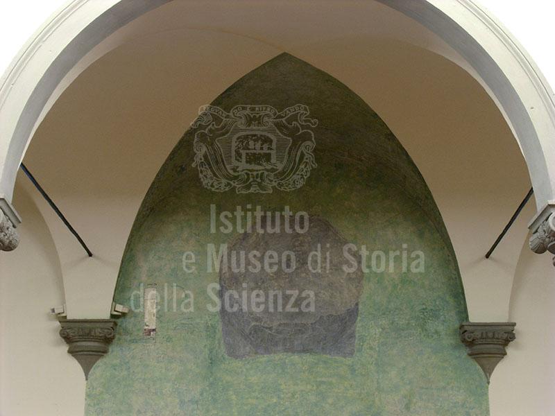 Wind Rose, west wall of the Biblioteca di Michelozzo, Museo di San Marco, Florence.