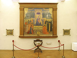 Fra Angelico,  San Marco Altarpiece (1438-1443), Museo di San Marco, Florence.