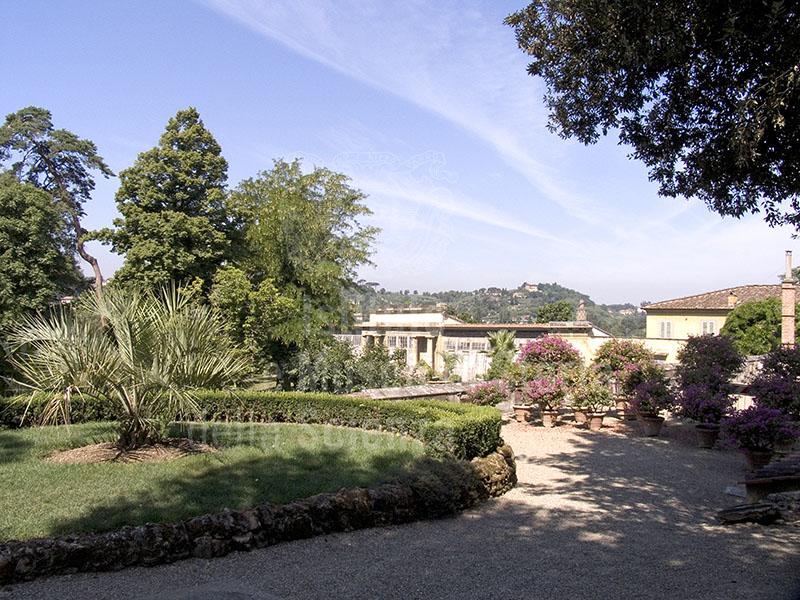 Immagine giardino botanico superiore di boboli a firenze i for Giardino orto botanico firenze