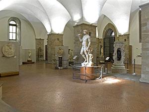 Sala di Michelangelo e della scultura del Cinquecento, Museo del Bargello, Firenze.