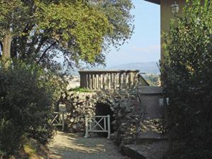 Giardino di Palazzo Mozzi Bardini - Galleria