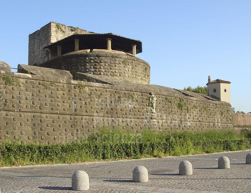 Fortezza da Basso a Firenze: il mastio.
