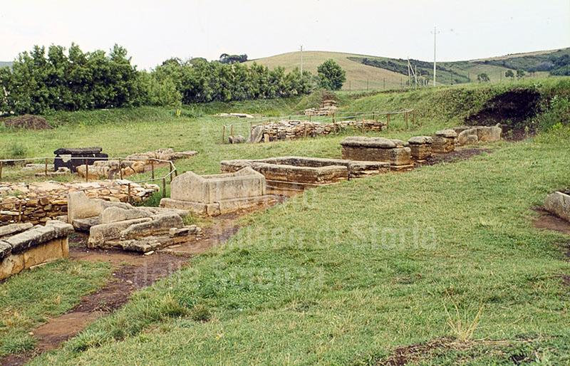 Necropoli etrusca di Baratti, Parco Archeologico di Baratti e Populonia.