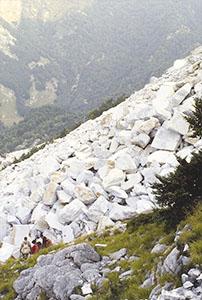 Cave apuane, Seravezza.