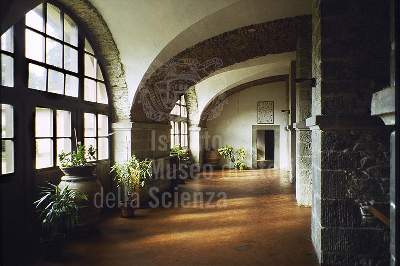 L'interno dell'Abbazia di Vallombrosa, Reggello.